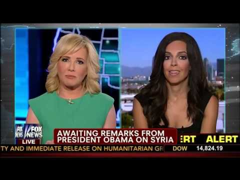 Syrian Update by Lisa Daftari   Jamie Colby   America Live   Fox News   8 30 13 1