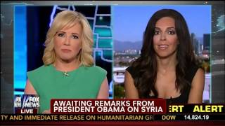 Syrian Update by Lisa Daftari   Jamie Colby   America Live   Fox News   8 30 13 1