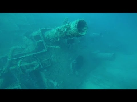U.S. Navy ship found after nearly 58 years lost at sea