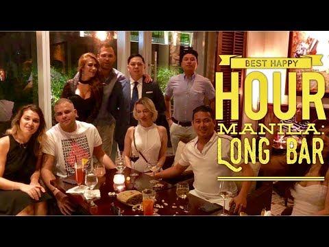 2018 Best Happy Hour Manila: Long Bar Raffles Fairmont Hotel Makati