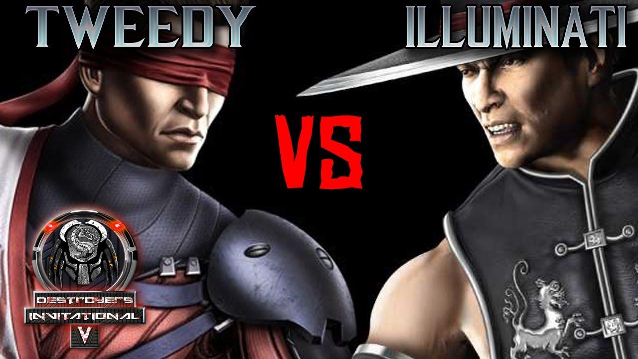 Tweedy vs Go_Illuminati_69 - Destroyer's Invitational V - MKX