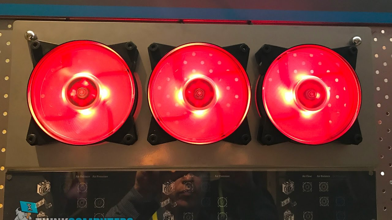 Cooler Master Adds RGB Lights To Its MasterFan Case Fans