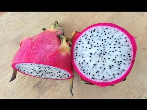 HOW TO CUT DRAGON FRUIT EASILY ? !