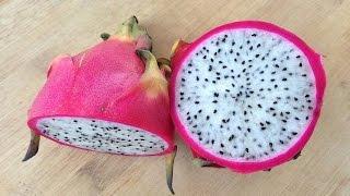HOW TO CUT DRĄGON FRUIT EASILY ? !