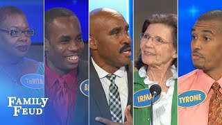 TOP 5 funniest and CRAZIEST folks Steve met! | Family Feud