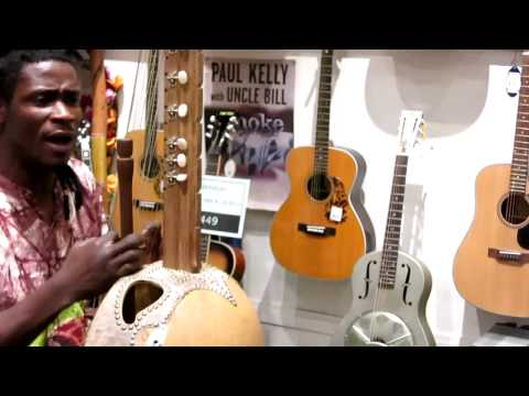 Guitar Gallery AfricanCeltic fusion