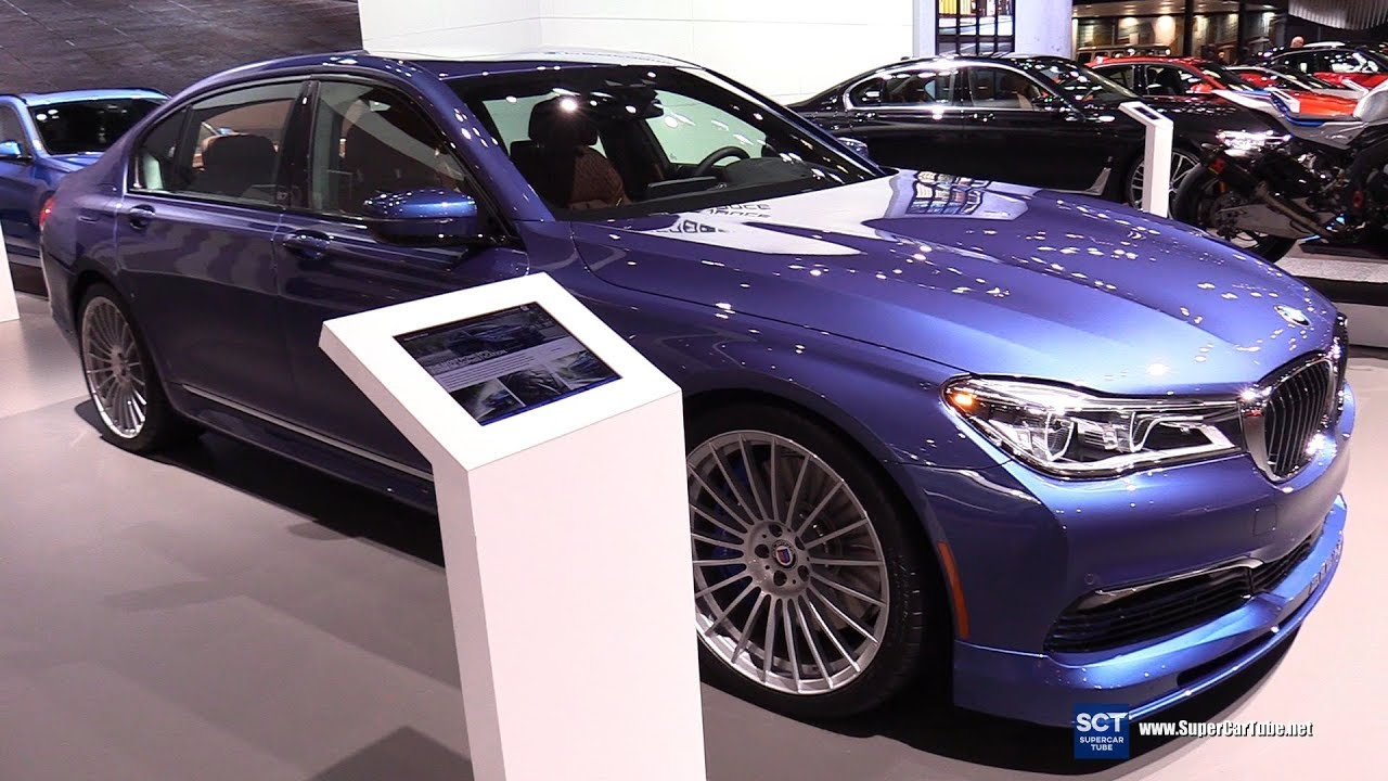 2018 Bmw Alpina B7 Xdrive Sedan Exterior And Interior Walkaround New York Auto Show