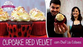 cupcake red velvet com chef lo esteves episdio 111 receitas da mussinha