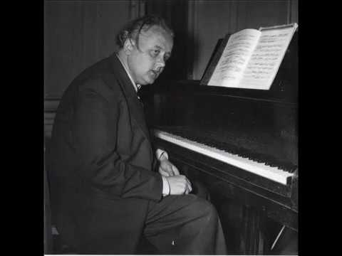 Erik Then-Bergh plays Schumann's Sonata No. 2 in G minor (1939 rec.)