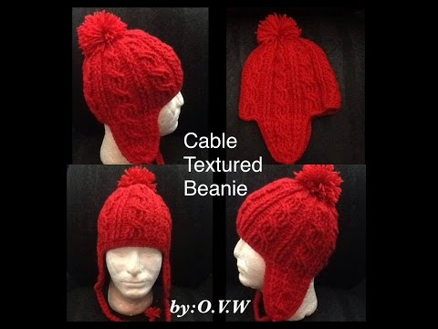 Cable Texture Beanie Part 2