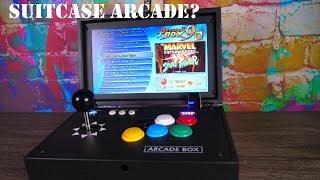 Suitcase Arcade? Pandora's Box 9D Portable 2,222 Game Arcade! Review!