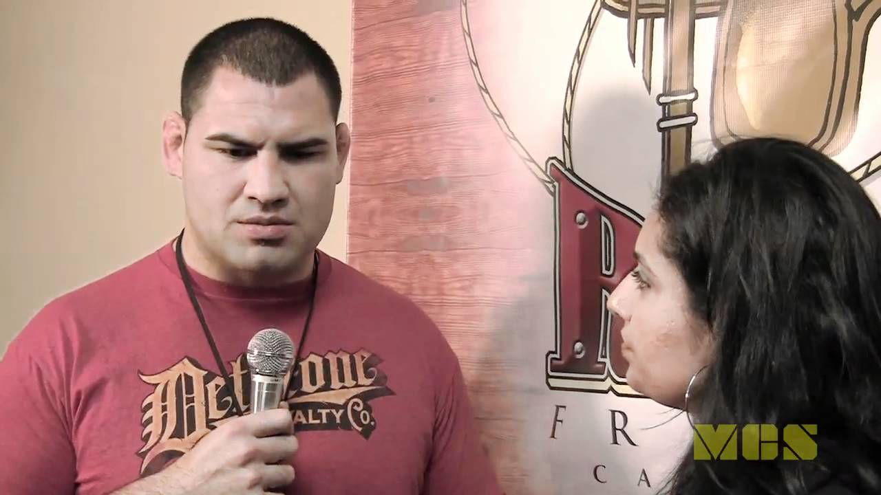 UFC Heavyweight Champion Cain Velasquez Interview @ Born ...