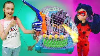 Приключения Леди Баг - Охотники за игрушками 3 серии подряд - Мультики с куклами для девочек