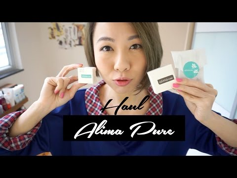 Alima Pure Natural Mineral Makeup Haul | 高比 Gobby