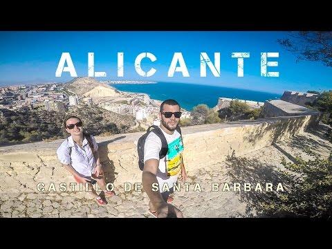 Gopro 4 ALICANTE - CASTILLO SANTA BARBARA 2016