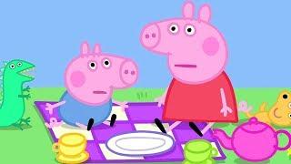Peppa Pig in Hindi - Babysitting - Clips - हिंदी Kahaniya - Hindi Cartoons for Kids