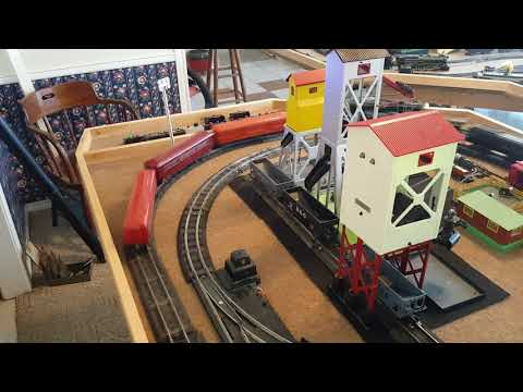 Our American Flyer S Gauge Trains - Revised Layout - March 2018