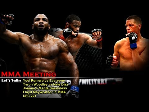 Let's Talk: Romero vs Everyone, Tyron's Dillema, Joanna's Mental Weakness, Floyd in MMA + more