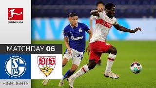 FC Schalke 04 VfB Stuttgart 1 1 Highlights Matchday 6 Bundesliga 2020 21