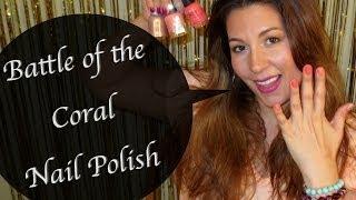 Coral Nail Polish - Battle Thumbnail