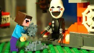 Приключения в Шахтах LEGO Minecraft Лего НУБик Майнкрафт Мультики и ФНАФ FNAF