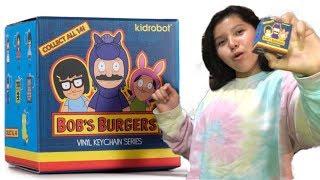 Bob's Burgers Kidrobot Blindbag Keychain Quick Unboxing Review