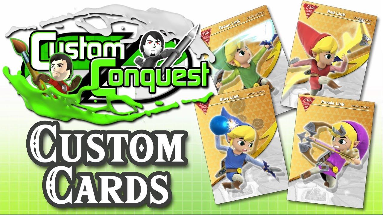 Custom Conquest #16 - Make your own Custom amiibo Cards
