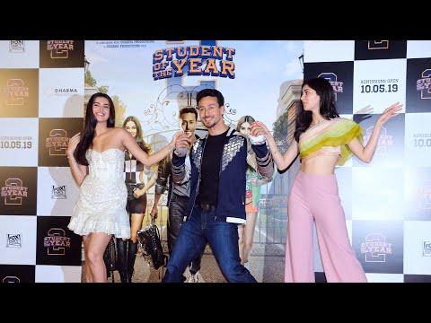 Student Of The Year 2 Trailer Launch | FULL VIDEO | Tiger Shroff | Ananya Panday | Tara Sutaria
