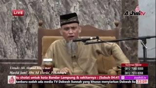 Ustadz Ali Ahmad bin Umar - Kajian Ba'da Tarawih