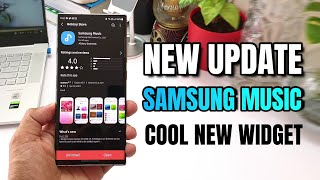 New update for 'Samsung Music App' - Cool new widget  - One UI 3.1 screenshot 1