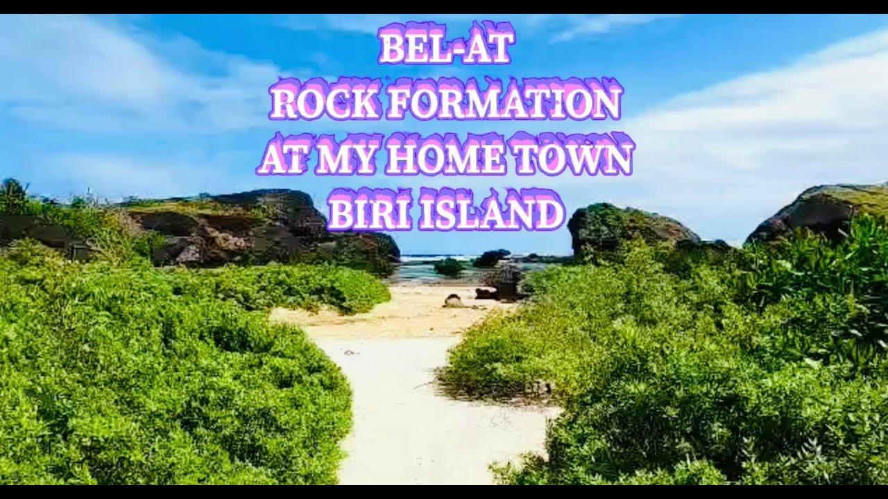 BEL- AT ROCK FORMATION AT MY HOME TOWN BIRI NORTHERN SAMAR