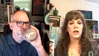(148) Casey Corbin Interview with Sandra Lett!  How to sell art! Facebook Live August 3, 2018