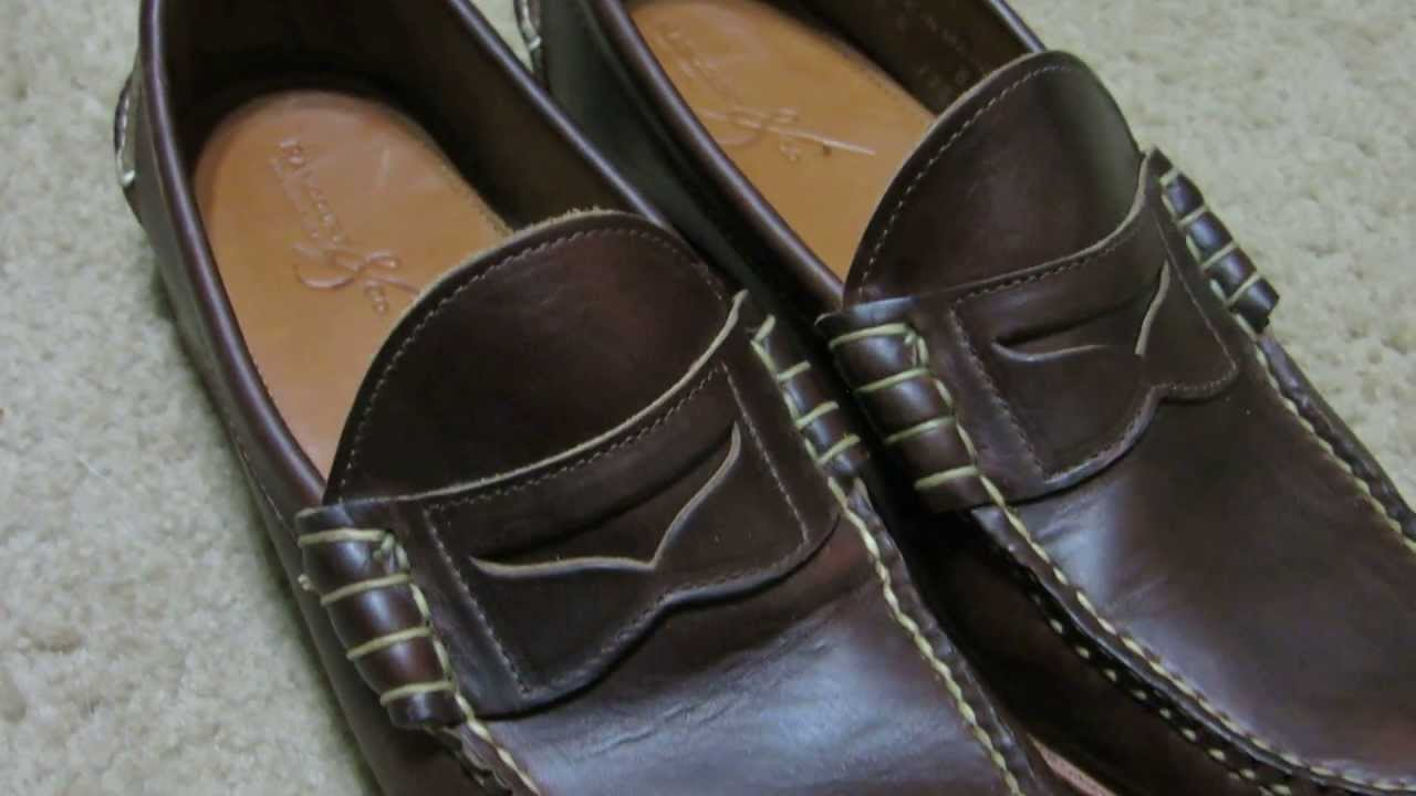 1ad3c19a9d Rancourt Beefroll Penny Loafer Shoe Review - Brown Chromexcel - YouTube