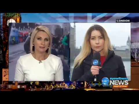 Amber Austin-Wright reporting from London to Australia on the Westminster attack