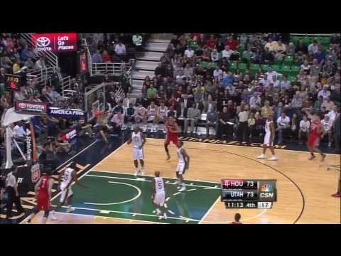 [11.2.13] Francisco Garcia - Catch & Shoot Three Pointer vs Jazz