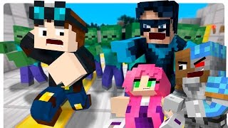 Minecraft teen titans vs evil diamond minecart clone - Diamond minecart clones ...