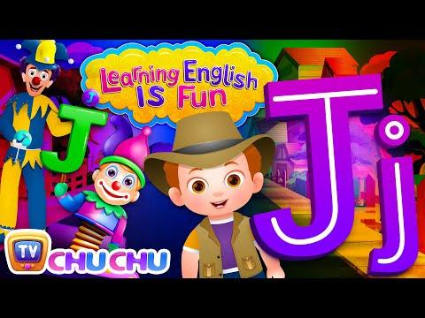 "Learning English Is Fun™   Alphabet ""J""   ChuChu TV Phonics & Words Learning For Preschool Children - วันที่ 14 Dec 2017"