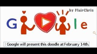 Valentine's Day 2014   Interactive Chocolate Creator Google Doodle