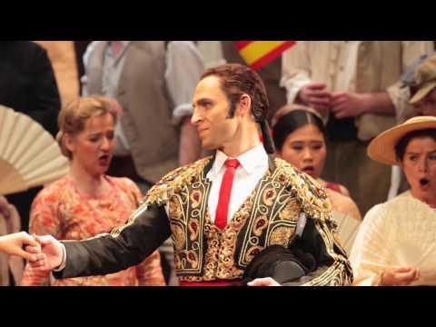 Kyle Ketelsen 2012 Metropolitan Opera Carmen Interview