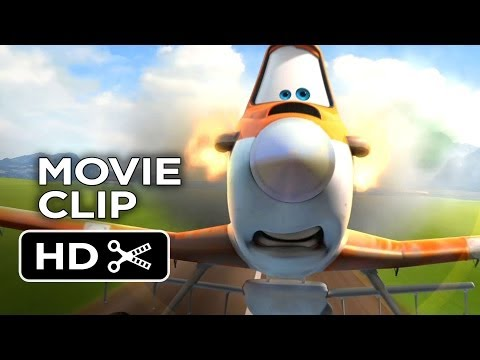Planes Bluray Release   The Wrong Fuel 2013  Disney Animated Movie HD