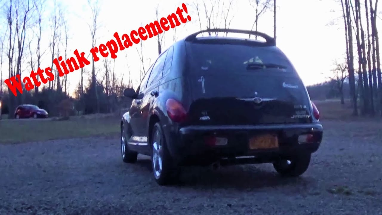 hight resolution of pt cruiser rear end clunking watts link lateral arm replacement