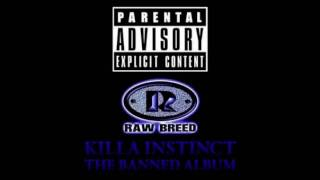 Raw Breed - Killa Instinct - Ghetto Life Feat Guru (RIP) of Gangstarr Marc Live  ( RapLegends)