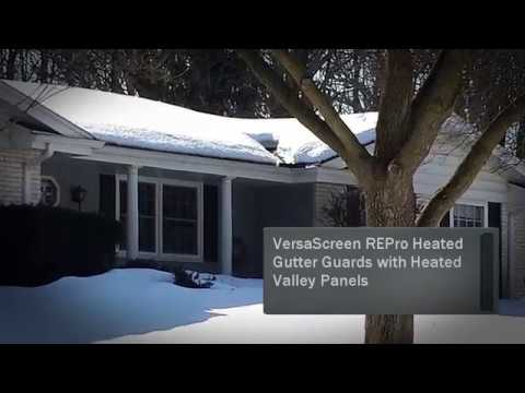 Roof Ice Dam Prevention With Edge Melt Systems   Winter Happiness
