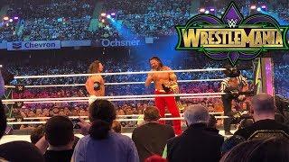 WrestleMania 34 Vlog #4 - WWE  WrestleMania 34 ROW 10