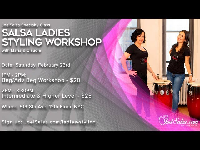 Salsa Ladies Styling Event in NYC