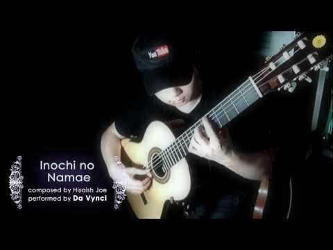 Spirited Away: Inochi no Namae ( One Summer's Day )  solo guitar by Da Vynci