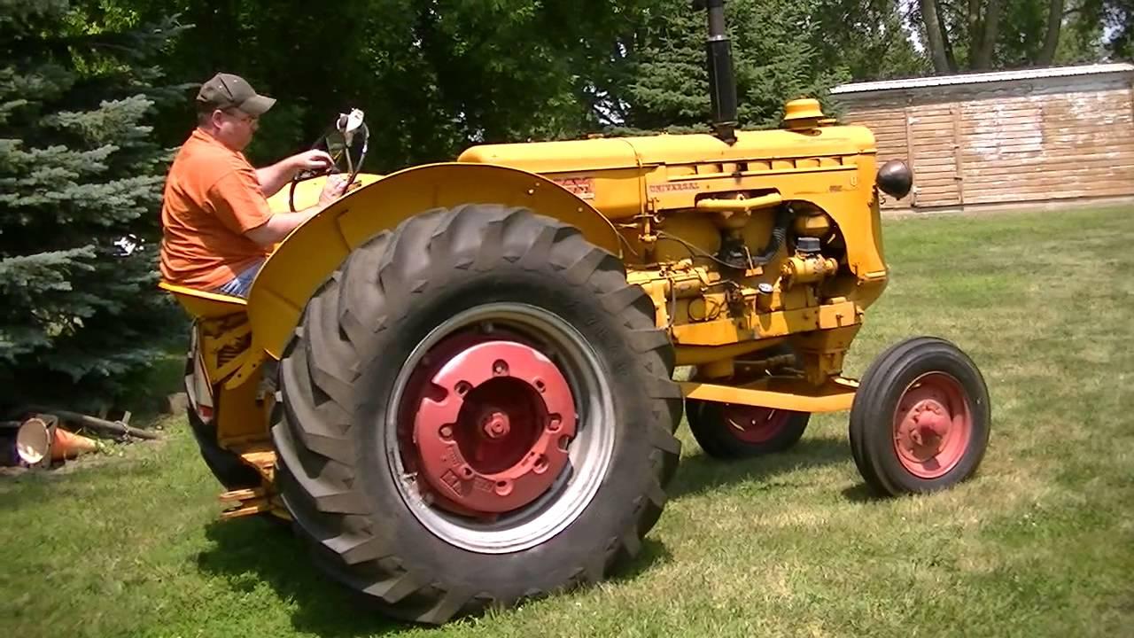 Minneapolis Moline Models : Minneapolis moline model u wide front mm tractor