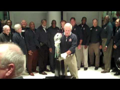 Vince Lombardi Trophy arrives in Canton at Pro Football Hall of Fame