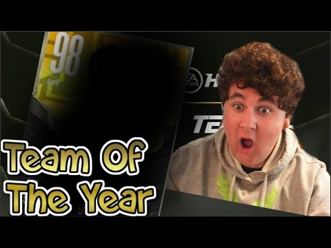 I GOT ONE NICE AND EARLY!!!! NHL 18 TOTY PACK OPENING