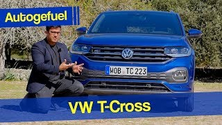 VW T Cross REVIEW new small SUV - Autogefuel